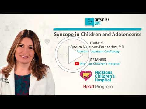 Syncope in Children and Adolescents wtih Dr. Martinez