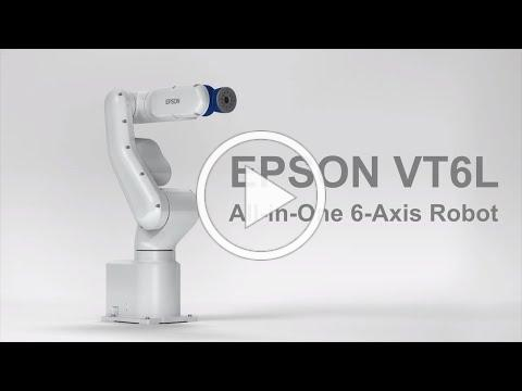 Epson VT6L All-in-One 6-Axis Robot   Product Tour