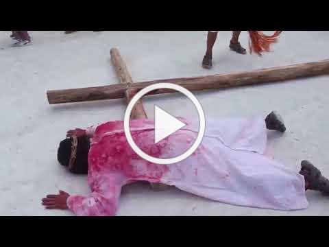 Benque House of Culture NICH Passion Re enactment