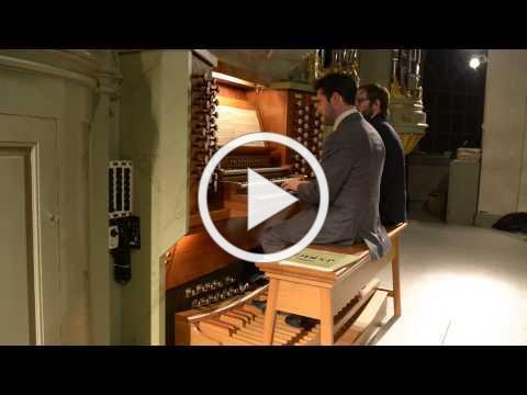 J. S. Bach - Organ Concerto in G Major after Johann Ernst Prinz von Sachsen Weimar BWV 592.