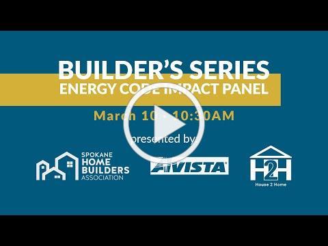 Builders Series | Energy Code Impact Panel