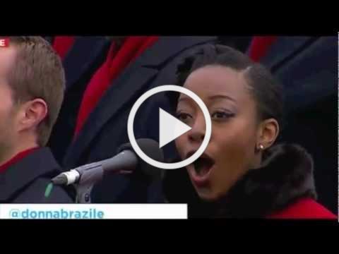 Alicia Olatuja - Obama Inauguration 2013