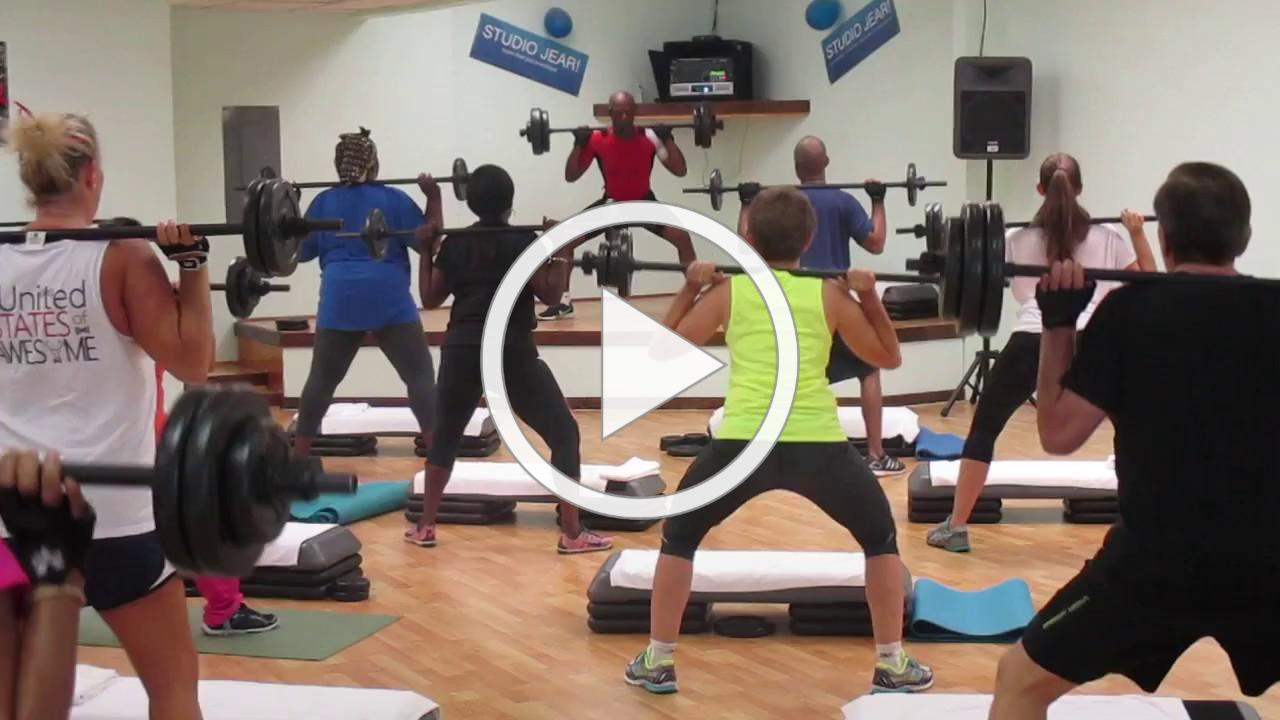 BODYPUMP (weight training) with Studio Jear Group Fitness