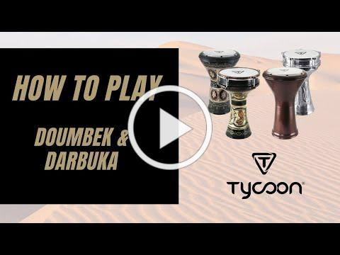 How to Play Doumbek & Darbuka. Demonstration by Adam Riviere, Tycoon Artist