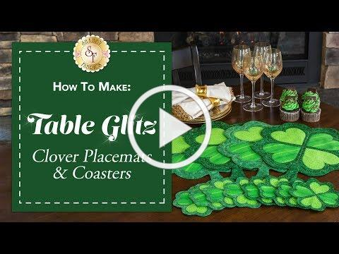 How to Make Clover Placemats & Coasters | a Shabby Fabrics Sewing Tutorial