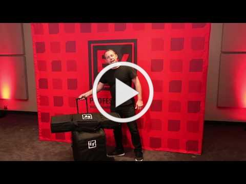 Electro-Voice EVOLVE 50 key features: Rolling case (optional accessory)