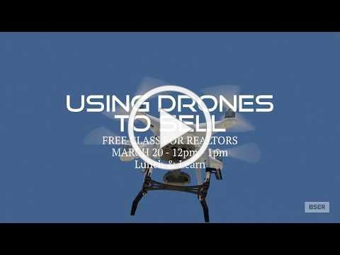 Using Drones to Sell Real Estate