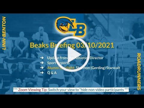 Beaks Briefing Mar 10, 2021