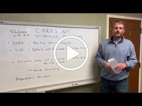 CARES Act and STIMULUS package update 4/6/2020