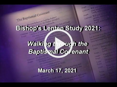 Bishop's Wednesday Message 3 17 21