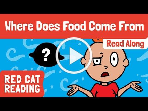 Where Does Our Food Come From   How is it Made   Made by Red Cat Reading