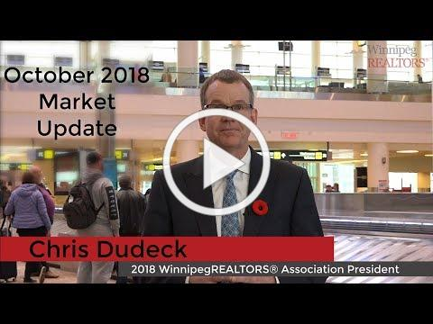 October 2018 WinnipegREALTORS® Market Update