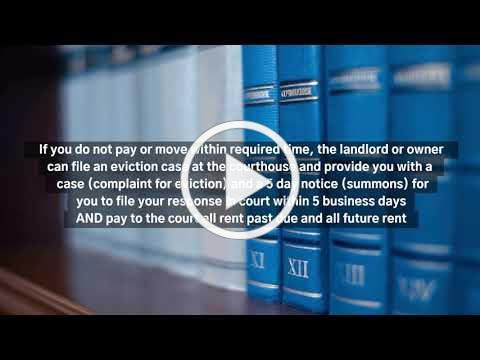 Eviction for Non-Payment of Rent in Florida