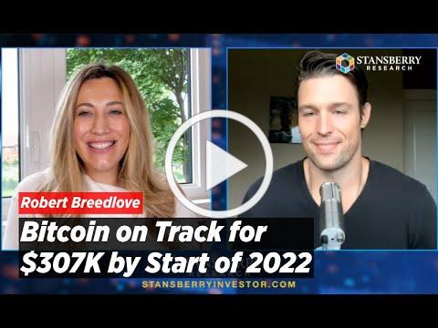 """Bitcoin on Track for $307K by Start of 2022, """"It Won't Take Much"""" - Robert Breedlove Makes the Case"""