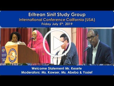 ESSG Welcome Statement & Opening Speech