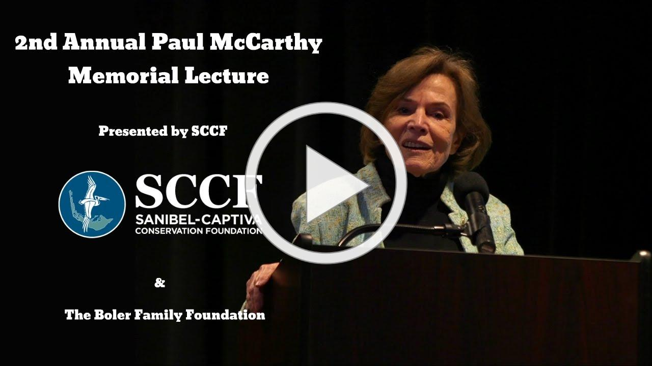 SCCF's 2nd Annual Paul McCarthy Memorial Lecture: Dr. Sylvia Earle