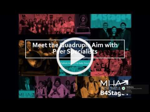 Meet the Quadruple Aim with Peer Specialists