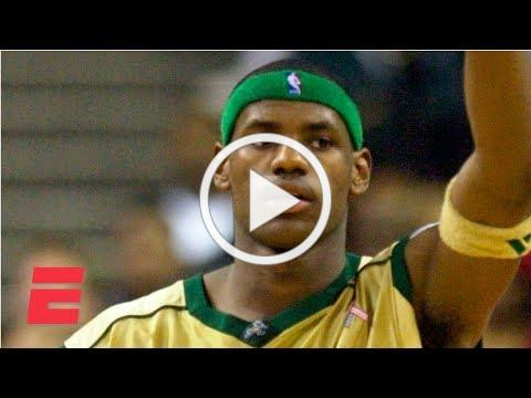 LeBron James scores 31 points in 1st national TV game in high school | ESPN Archives