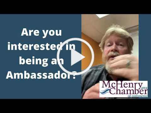 Are You Interested In Being An Ambassador?