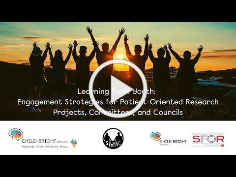 Learning from Youth & Young Adults: Engagement Strategies for POR Projects, Committees, & Councils