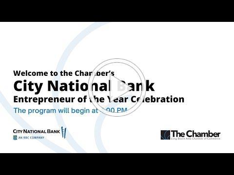 City National Bank 2021 Entrepreneur of the Year Celebration