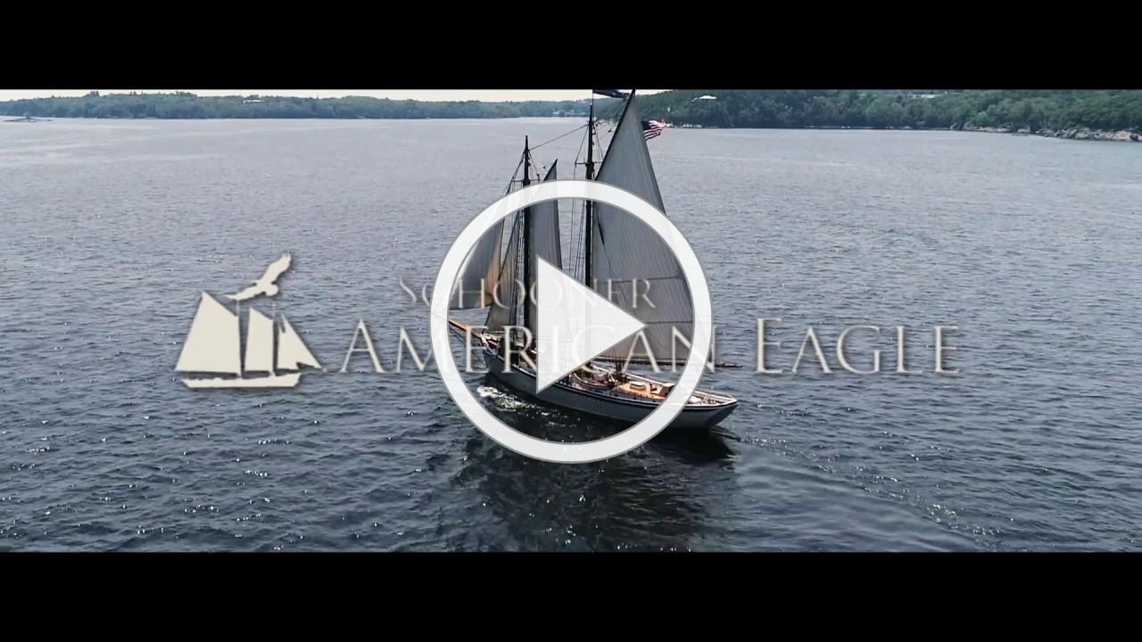 Sailing aboard the American Eagle