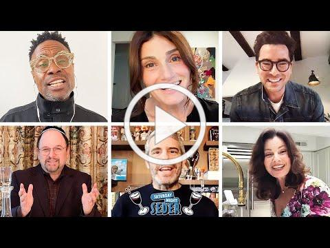 Saturday Night Passover Seder feat. Dan Levy, Finn Wolfhard, Billy Porter, Idina Menzel & More
