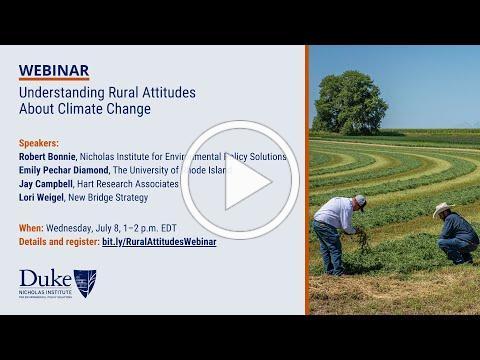 Understanding Rural Attitudes About Climate Change