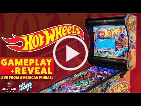 Hot Wheels Pinball Gameplay Reveal