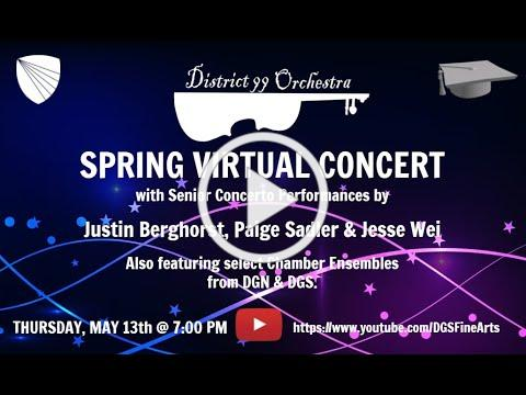 Spring 2021 District 99 Orchestra Virtual Concert