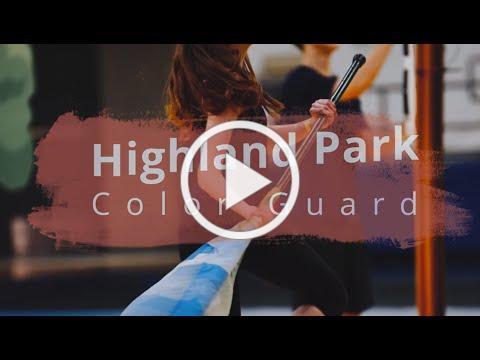 Highland Park ColorGuard Recruiting 2020