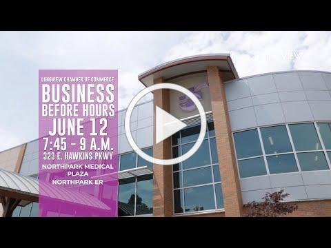 2019 Business Before Hours - CHRISTUS Northpark Medical Plaza & Northpark ER