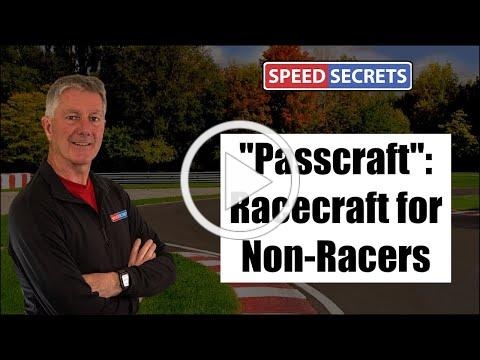 Passcraft: How to Pass & Be Passed in HPDE & Track Day Events