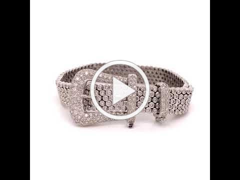 4010190 MDJ Advantage - 6.12 cttw Diamond Buckle Bracelet - Dominic Mainella
