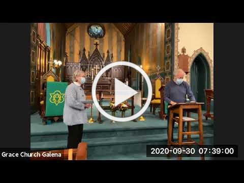 Grace Morning Prayer 9 23 2020