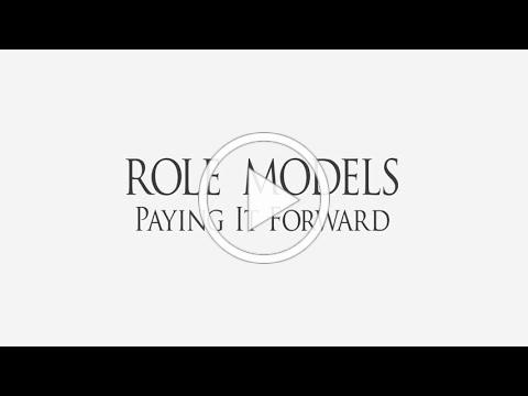 Role Models, Paying It Forward by Phil Savenick