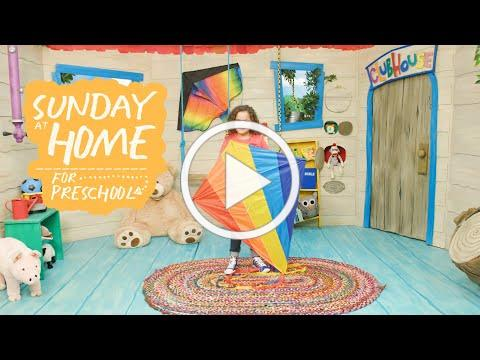 Sunday at Home for Preschoolers   April 4, 2021