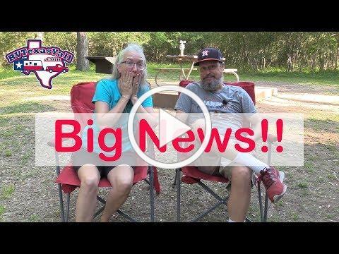 We Have Big News! | RV Texas Y'all