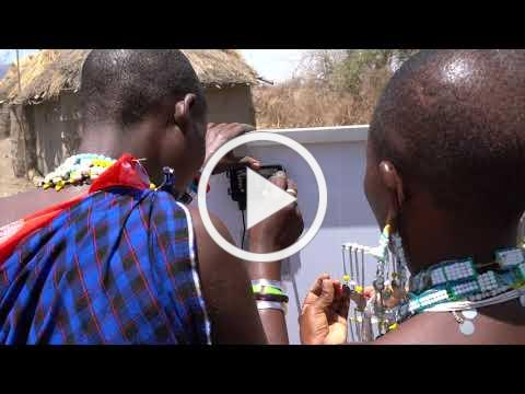 Maasai Stoves and Solar Project -Grid installation