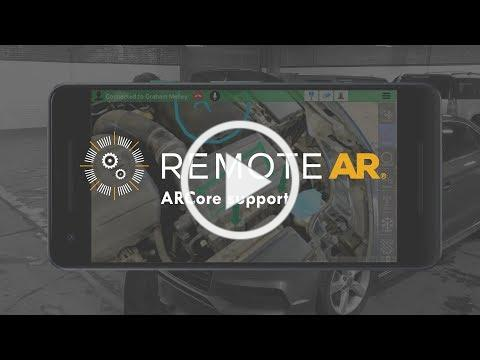 Remote AR adds ARCore support