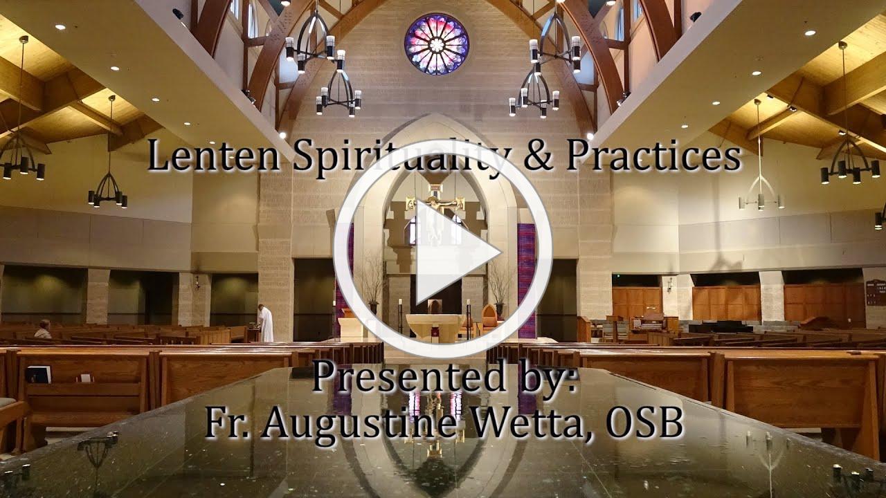 St Clare Catholic Church Lenten Soup & Speaker Series for 2020, Week 1.
