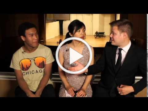 Clayton Stephenson Interview at Van Cliburn Junior Competition