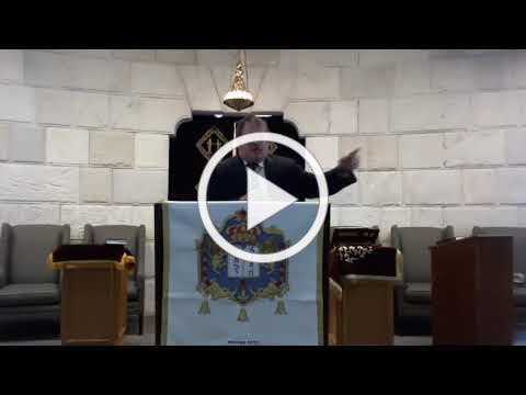 RABBI FISCH DRASHA/SERMON