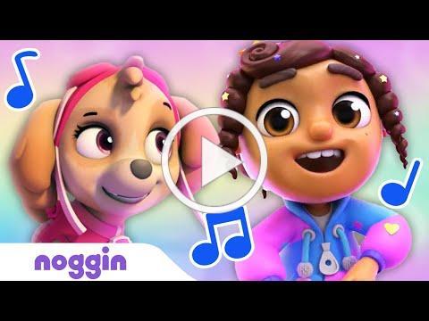 """Like Nobody Else"" Sing Along 🎶 w/ Bubble Guppies & PAW Patrol! | Noggin | Nick Jr."