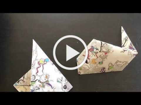 Marine Life Origami