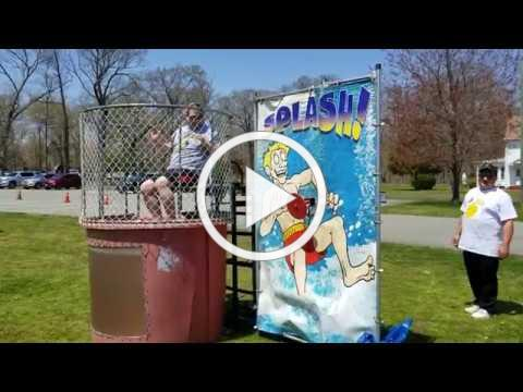 Mr. J Gets Dunked for a Good Cause at OLMA Spring Fest