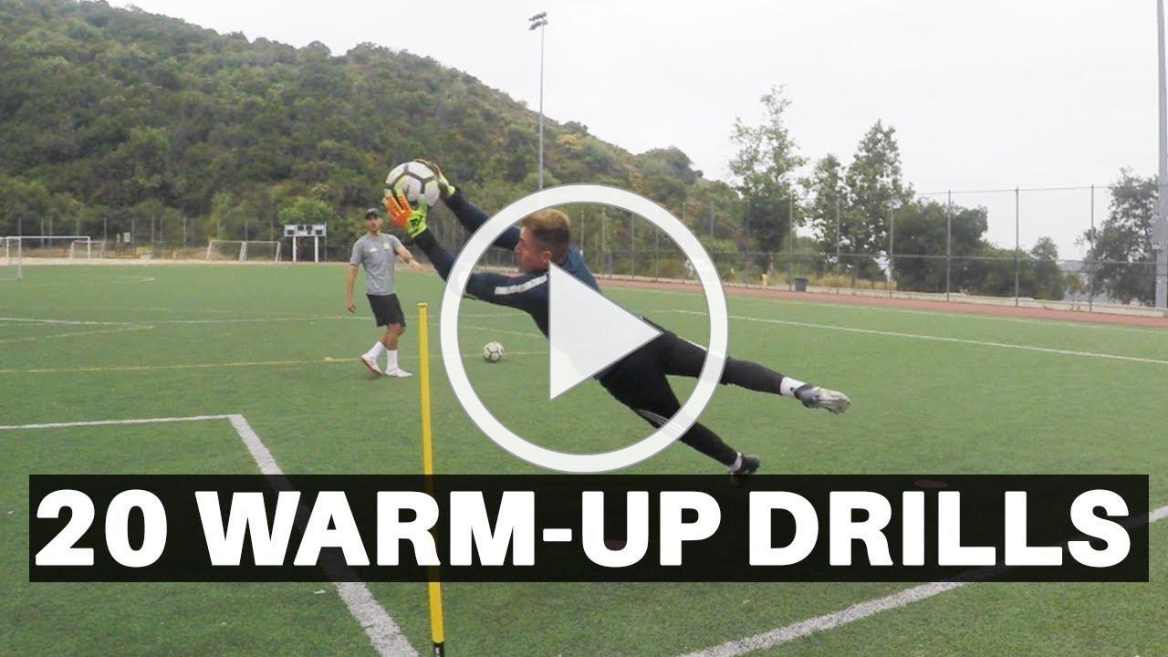 20 Goalkeeper Warm-Up Drills | Pro GK