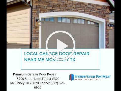 Local Garage Door Repair Near Me Mckinney TX