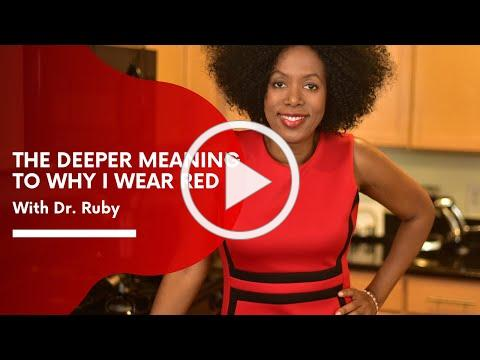 The Deeper Meaning to Why I wear Red | Get OUT of the Life YOU Created