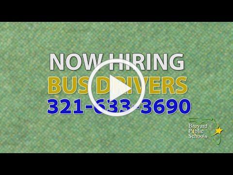 BPS Now Hiring Bus Drivers